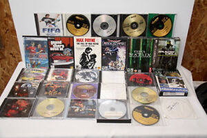 assorted lot of games