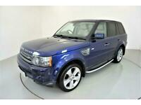 2010 Land Rover Range Rover Sport 3.0 TDV6 HSE 5d AUTO-GREAT COLOUR BALI BLUE-HE