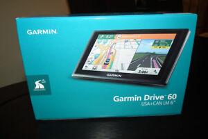 "Garmin Drive 60 LM USA+CANADA 6"" Inch Screen, Brand new in Box"