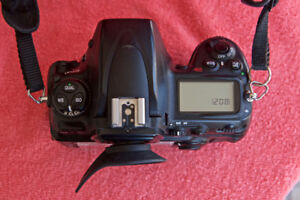 Two Nikon D700 full frame camera bodies