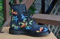 Dr. Martens Hawaiian floral canvas boots Women's size 6 Neuf/New