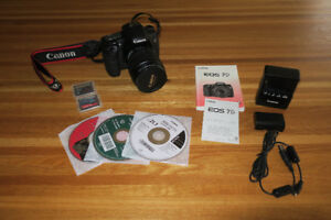 Canon 7D + objectif Canon EFS 15-85 mm 3.5-5.6 IS USM