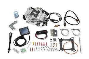 Holley Carburator-EFI Conversion Kit LS Hot Rod Camaro Corvette