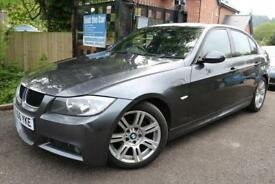 2006 (56) BMW 3 SERIES 318d M SPORT GREY FSH Long MOT DIESEL FINANCE AVAILABLE