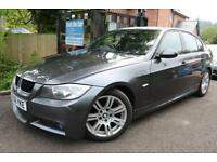 2006 (56) BMW 3 SERIES 318d M SPORT GREY FSH Long MOT DIESEL FINANCE AVAILABLE