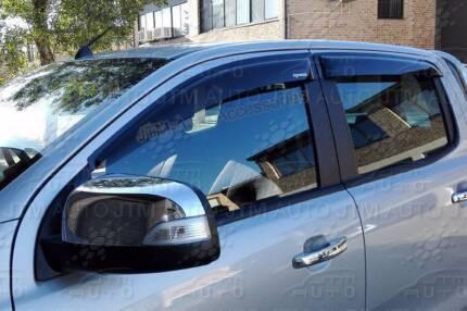 Ford Ranger PX Dual Cab Weather Shields Window Visor******2017