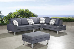 Fabric outdoor sectional, Stunning modern design Patio Furniture