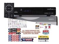 Cable TV Zgemma H2H Combo + 12 months HD Sports channels-kids,movies,BT,SKY HD,Asian TV gift