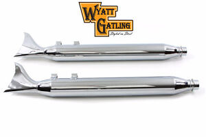 Wyatt Gatling Fishtail Muffler Set (New in Box)