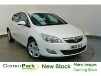 2012 VAUXHALL ASTRA EXCLUSIV HATCHBACK PETROL