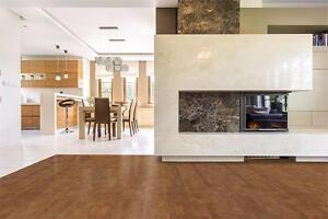 Comfortable, Warm Flooring - Cork eliminates vibrations, install cork flooring reduce body aches
