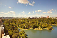 Central Park views along with the Manhattan skyline