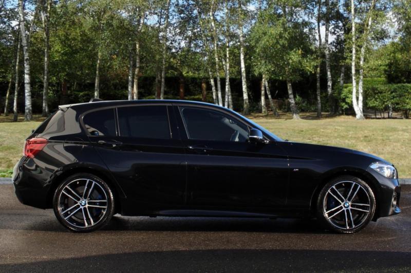 2018 bmw 1 series 118i m sport shadow edition 5-door petrol black