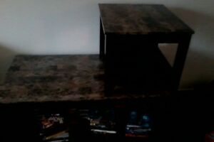Coffee table and 2 endtables