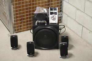 Logitech Z-5500 Digital Surround Sound 505 Watts Speaker System