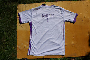 kids soccer jerseys Euro Clubs, personalize gift - kids name on Belleville Belleville Area image 3