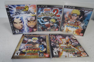 For Sale: Naruto Ps3 Games