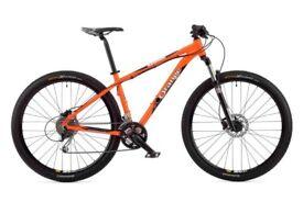 ORANGE clockwork mountain bike