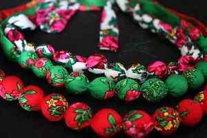 Folk necklace corals HandMade bracelet Zakopane Poland - <span itemprop=availableAtOrFrom>Bielsko-Biala, Polska</span> - Folk necklace corals HandMade bracelet Zakopane Poland - Bielsko-Biala, Polska