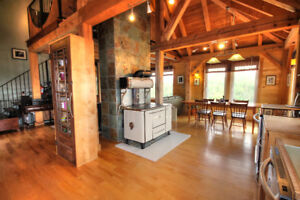 Timber Frame Retreat For Sale in Livingstone Cove, N.S.