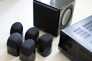 Surround Sound - Mirage MX 5.1 Home Theatre Cinéma System