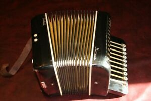 Button Accordion Made in Italy Collectable