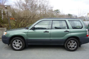 SOLD.  Subaru Forester 2007 in Halifax -