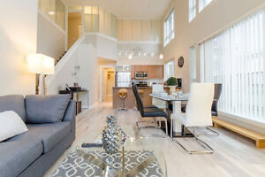 Fully Furnished Loft 4 Beds/3 Baths Near Mall/Sky Train - Surrey