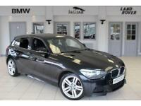 2013 63 BMW 1 SERIES 2.0 120D XDRIVE M SPORT 5D 181 BHP DIESEL
