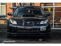 Subaru Impreza WRX STI Hawkeye lightly modified