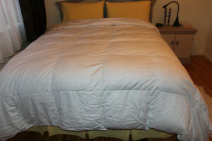 King size down duvet