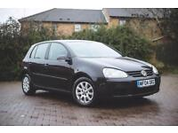2004 VW Golf 1.6 FSI 115PS auto SE-LONG MOT- 4 Service Stamps