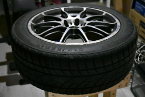Rota GRA 17x7.5 5x100 et48 cb56.1mm wheels and tires