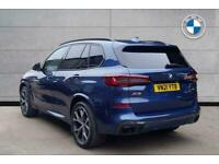 2021 BMW X5 SERIES X5 xDrive40i M Sport SUV Petrol/Electric Hybrid Automatic