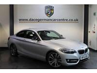 2014 14 BMW 2 SERIES 2.0 220D SPORT 2DR 181 BHP DIESEL