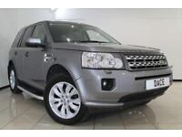 2012 12 LAND ROVER FREELANDER 2.2 SD4 XS 5DR AUTOMATIC 190 BHP DIESEL