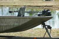 16' Fishing & Hunting camouflaged Tracker Jon Boat