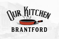 Commercial Shared Kitchen Space available -Our Kitchen Brantford