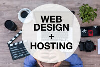 Web Design and Hosting for Less (Hire a student)