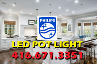 BEST-RATED PHILIPS® LED POT LIGHTS EXPERT INSTALLATION FROM $55