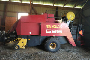Used New Holland 595 Big Square Baler