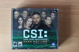 CSI Dark motives