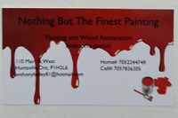 professional painting offered in muskoka area