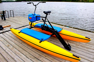 WATER bikes. Hydrobikes rental