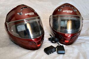 Casques de moto modulaire et Bluetooth