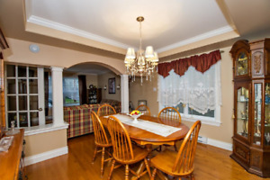 Dining Room Set - Table, 6 chairs, china cabinet for sale