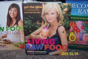 Raw Food Cookbooks