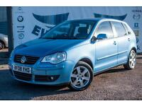 2008 VOLKSWAGEN POLO 1.2 MATCH 5 DOOR 70 BHP FULL SERVICE HISTORY HATCHBACK PETR