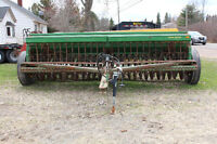 John Deere grain seeder