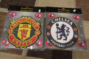 Manchester United and Chelsea FC mouse pads